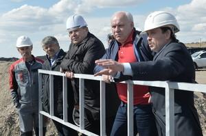 Глава Хакасии посетил угольные предприятия в Алтайском районе