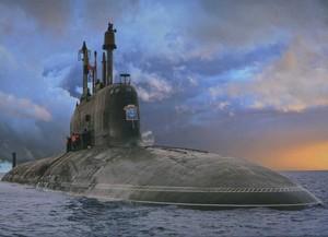 """Пуск ракеты """"Калибр"""" произведен с подлодки """"Северодвинск"""""""