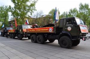 В преддверии 9 Мая в Хакасии пройдет автопробег