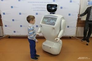 24 апреля Робот Алантим приедет в Саяногорск