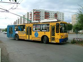 В Абакане назовут лучший экипаж троллейбуса
