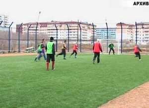 Саяногорские ветераны футбола – победители!