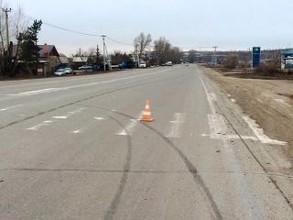 В Хакасии 78-летний пенсионер сбил пешехода и скрылся