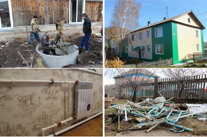 В Хакасии приступили к капремонту дома, когда взошли пионы