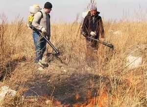 В Саяногорске продолжается пожарная подготовка к майским праздникам