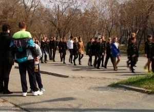 До 9 мая в Саяногорске пройдет 5 репетиций Парада Победы