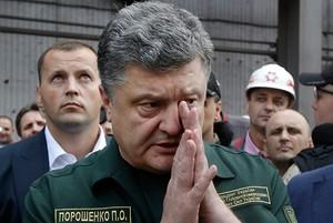 Захарова поставила под сомнение слова Порошенко о мощи армии Украины