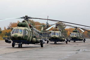 6 новых вертолетов Ми-8МТВ-5 поступили на вооружение ЮВО