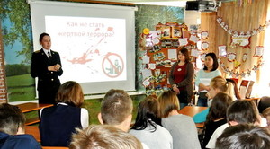 Школьников Хакасии учат противостоять терроризму