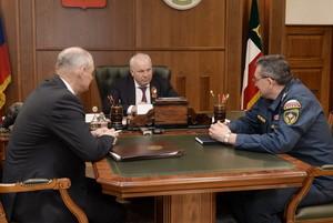 Александр Мулл - кандидат на должность начальника МЧС России по Хакасии