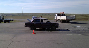 В Хакасии девушка на ВАЗе врезалась в грузовик: пострадал ребенок