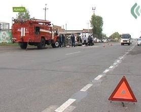 На трассе Абакан-Саяногорск разбились двое пенсионеров