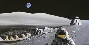 """""""Роскосмос"""" работает над созданием лунной базы"""