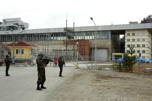 Колонны военной техники двинулись к СШ ГЭС