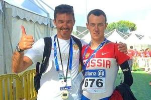 Хакасский спортсмен Вадим Трунов везёт из Италии бронзу
