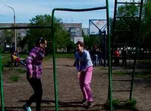В Саяногорске начинают работу пришкольные спортплощадки