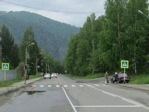 На трассе в Хакасии вблизи перехода сбит пешеход