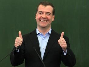 Медведев перенёс выходные с январских праздников