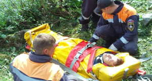 """В парке """"Ергаки"""" спасли двоих травмированных туристов"""