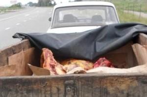В Хакасии на опасное мясо наложили арест