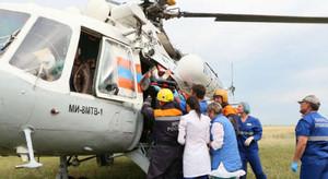 В Хакасии спасатели провели тренировку, ликвидируя жуткое ДТП