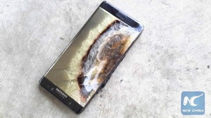Взорвавшийся смартфон от Samsung нанес ущерб на 90 тысяч рублей