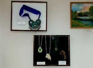 В Краеведческом музее Саяногорска выставлены шедевры бисероплетения