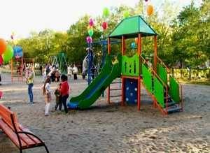 «РЭУ» открыло новый детский городок в Ленинградском микрорайоне