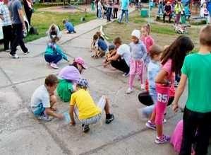 В Ленинградском микрорайоне открыли еще одну детскую площадку