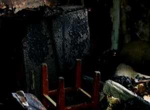 В доме 7-21 Саяногорска сгорела квартира