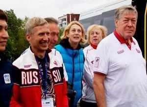 Саяногорск посетили олимпийцы