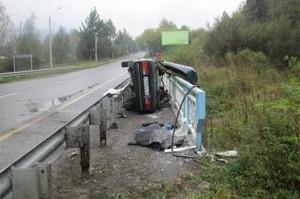 На трассе Саяногорск - Черемушки вновь погиб человек