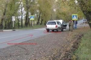 В Хакасии пострадавшей в аварии женщине изуродовало лицо