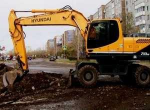 Работы по устранению коммунальной аварии продолжаются