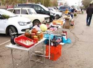 Уличные торговцы не желают покидать насиженных мест
