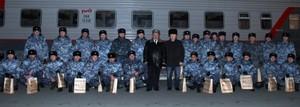 Хакасия встретила бойцов сводного отряда