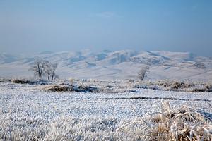 В Хакасию идет зима с морозами