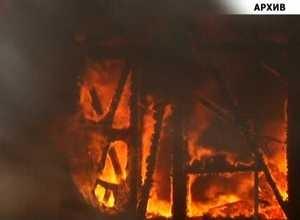 В Саяногорске сгорела баня