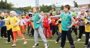 Более трех тысяч юных абаканцев участвовали в акции «Зарядка с чемпионом»