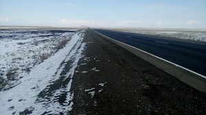 В Хакасии из-за непогоды ограничили движение на двух трассах