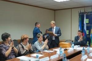 Коллектив СТЭМИ отметили за активное содействие в занятости населения Хакасии