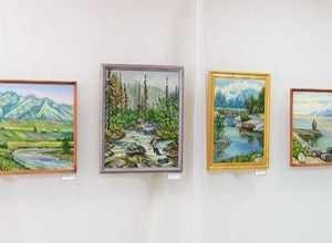 В Краеведческом музее открылась выставка художницы Л. Чечуровой