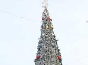 В Черемушках открыли елку