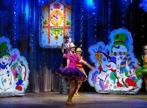 Саяногорская детвора уже отмечает Новый год