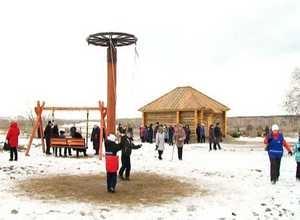 Саяногорцы встретили рождественский «Сочельник» в этнокультурном комплексе