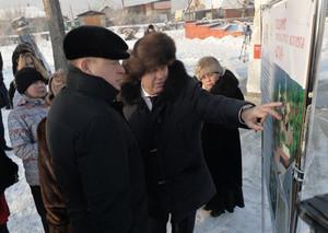 Глава Хакасии Виктор Зимин отметил развитие Саяногорска