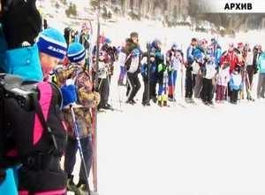Саяногорский лыжник второй