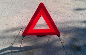 На трассе Абакан - Саяногорск произошла тройная авария