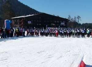 В Саяногорске прошла «Лыжня России 2017»