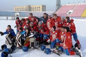 Юные хоккеисты Абакана – чемпионы России!